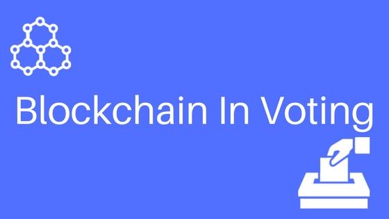 blockchain revolution and election