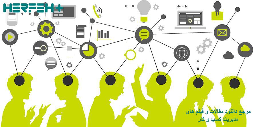 تصویر بازاریابی و خدمات CRM