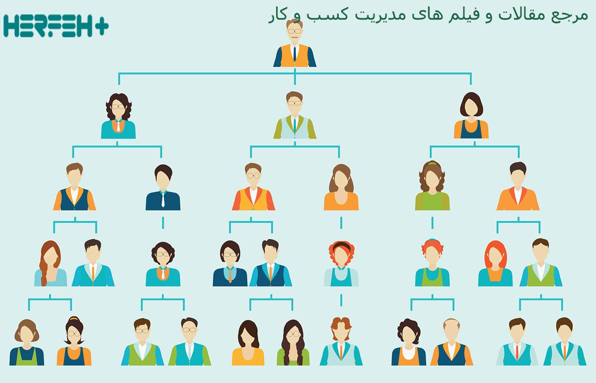 ساختار سازمانی در استارتاپ ها درست